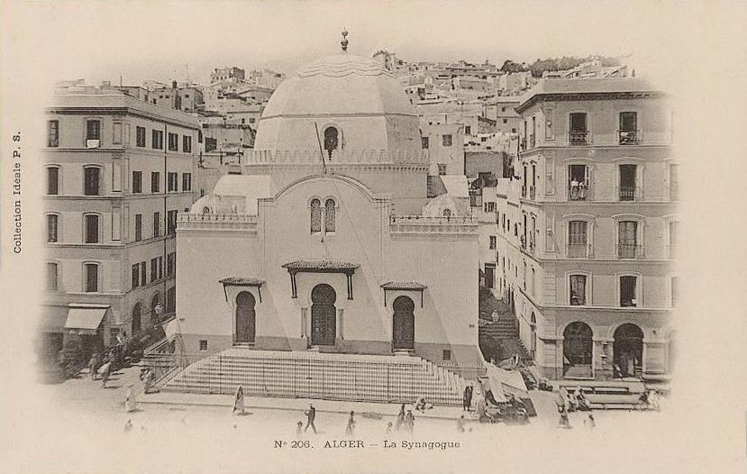 Grande Synagogue d\'Alger   1902.jpg