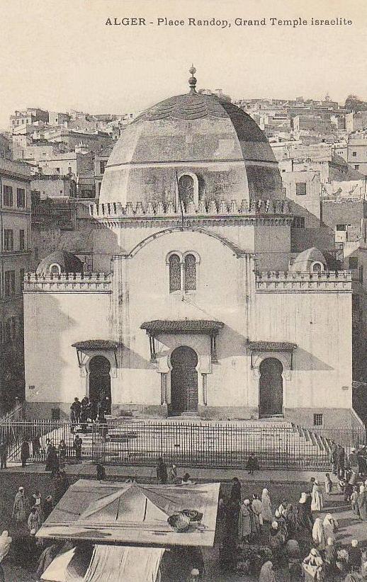 Grande Synagogue d\'Alger  1904 .jpg